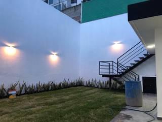 RESULTADO FINAL JARDIN POSTERIOR de De la Vega arquitectura