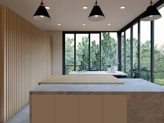 2URBA Cozinhas modernas por Jah Building Solutions Moderno