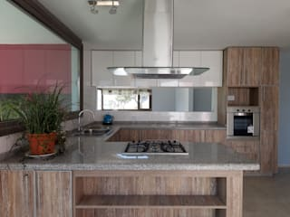 Dario Basaldella Arquitectura Built-in kitchens Engineered Wood Beige