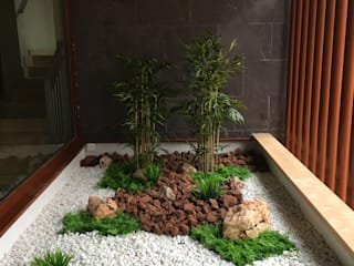 Arquitectura Vegetal SL 石頭庭院