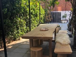 Bedrijfstuin Moderne tuinen van Studio Linda Lavoir Modern