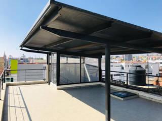 Intervención en azotea de edificio de oficinas - Después de Rabell Arquitectos
