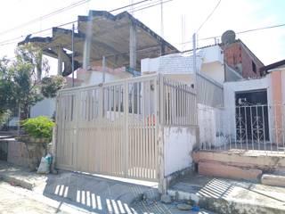 REJAS + PORTÓN EN ALUMINIO - Casa Johan - Cartagena Casas modernas de Juliano.Arquitectos Moderno