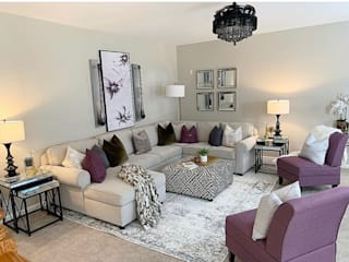 Modern interiors by Avyaya Design Studio