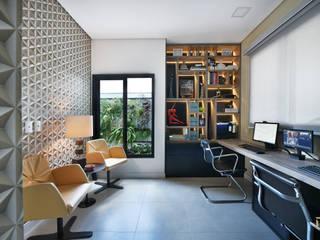 Casa Condominio Sunset Village Sorocaba Escritórios modernos por Marcela Rocca Arquitetura & Interiores Moderno