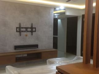 "Renovation ""Like a Condo"" Modern living room by 69 Builder Pte Ltd Modern"