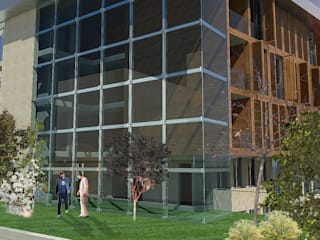 ACIBADEM DAMLA APT. ODA Omer Durdu Architects Modern