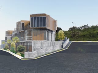 GÖKTÜRK VİLLALARI ODA Omer Durdu Architects Modern