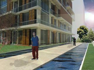 CADDEBOSTAN KONUTLARI ODA Omer Durdu Architects Modern
