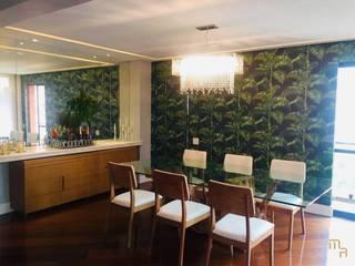 Apartamento Higienópolis Salas de jantar modernas por Marcela Rocca Arquitetura & Interiores Moderno