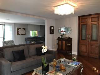 Apartamento Higienópolis Salas de estar modernas por Marcela Rocca Arquitetura & Interiores Moderno