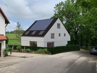 Haus E - Einfamilienhaus als Effizienzhaus KfW40+ von Steffen Wurster Freier Architekt Modern