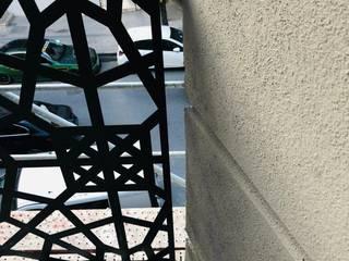 Küçükçekmece Lazer Kesim Korkuluk Yapısan Cephe Sistemleri Balkon Aluminyum/Çinko Siyah