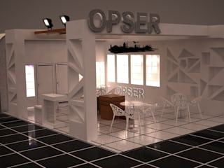 Moddo Concept Exhibition centres Wood White