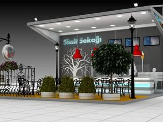 Moddo Concept Exhibition centres Wood Metallic/Silver