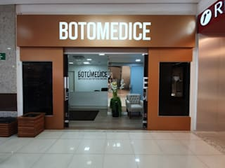 Botomedice Clínicas minimalistas por Monteiro arquitetura e interiores Minimalista