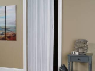 Dự án cửa xếp nhựa Cửa nhựa lõi thép BathroomDecoration Nhựa White