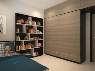 3bhk Residential Apartment Banglore Modern nursery/kids room by Ask Design and Build Modern