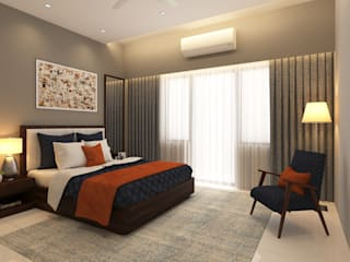 Master Bedroom Modern style bedroom by Ask Design and Build Modern