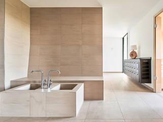 Steffen Wurster Freier Architekt Modern hotels Tiles Beige