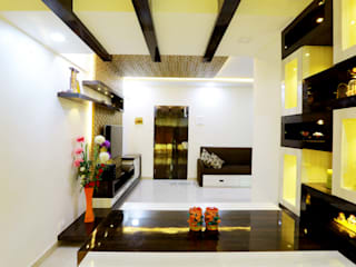 Interior Design of Mr.Santosh Patil's Residence Modern dining room by Neha Dharkar Modern