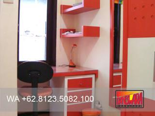 TERBAIK WA +62.8123.5082.100, Furniture Custom Malang Kitchen Set Malang KitchenKitchen utensils Kayu Lapis Red