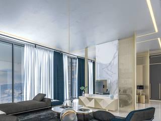 residence interior Modern style bedroom by HOC DesignArch Pvt Ltd Modern