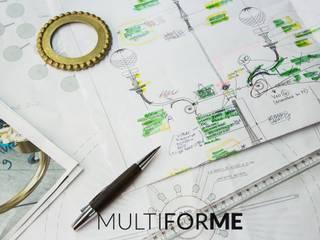 Progetto basato sui disegni originali Sedi per eventi in stile classico di MULTIFORME® lighting Classico