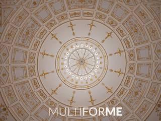 Il grande lampadario centrale Sedi per eventi in stile classico di MULTIFORME® lighting Classico