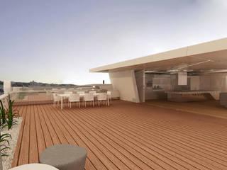 Modern Terrace by Serramento Mimarlık Modern