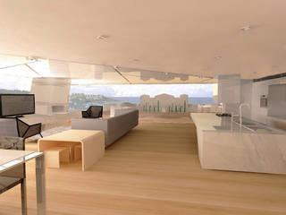 Modern Living Room by Serramento Mimarlık Modern