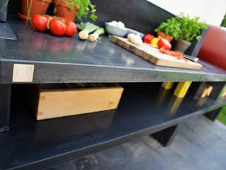Cucina da Esterno Giardino moderno di Alfa Forni Moderno