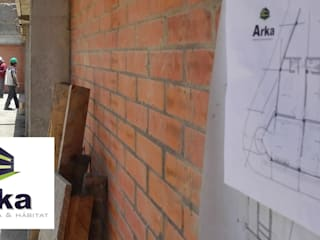 BODEGA PARQUE INDUSTRIAL TUNJA Bodegas de estilo industrial de ARKA Arquitectura & Habitat Industrial