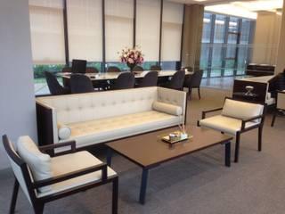 KENZZ EV VE OFİS MOBİLYALARI – sun plaza satış ofisi: modern tarz , Modern