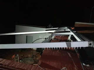 PROYECTO RESIDENCIAL PÉRGOLA RETRÁCTIL SOLAIR® Balcones y terrazas clásicos de Solair Mexico Clásico