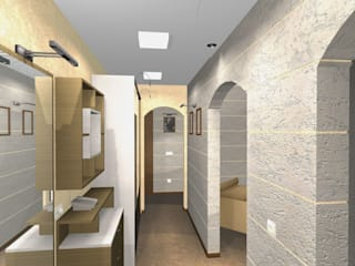 Дизайн 3-х комнатной квартиры:  в современный. Автор – Шумилов Андрей архитектор - дизайнер, Модерн