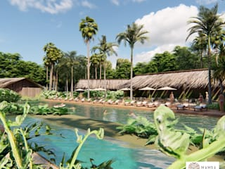 MAMBAZAMBIA - ECOHOUSING de TORO VARGAS Asesoria & Construccion s.a.s Tropical