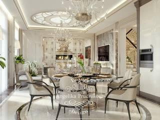 Livings de estilo clásico de Дизайн-студия элитных интерьеров Анжелики Прудниковой Clásico