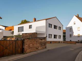 Steffen Wurster Freier Architekt Casas multifamiliares Arenisca Blanco