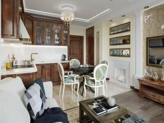 Квартира в классическом стиле Кухня в классическом стиле от Артпланнер Классический