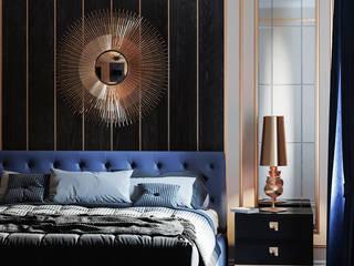 Спальня в стилистике Лофт Спальня в стиле лофт от Артпланнер Лофт