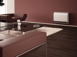 Riscaldamento di appartamenti moderni utilizzando i radiatori a gas STRATOS by ITALKERO ITALKERO SRL Soggiorno moderno