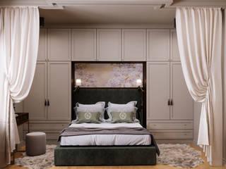 Чайная дымка Спальня в классическом стиле от Дизайн-бюро Анны Шаркуновой 'East-West' Классический