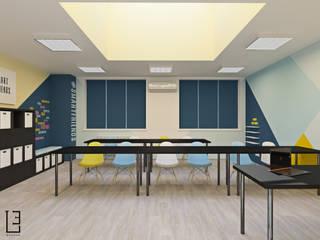 Проект учебного класса для подготовки к ЕГЭ Школы в стиле минимализм от L.E.DESIGNINTERIOR Минимализм