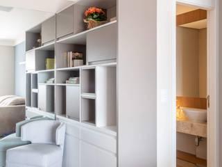Apto Martinho de Campos | Lapa | São Paulo | 92 m2 Salas de estar modernas por Madi Arquitetura e Design Moderno