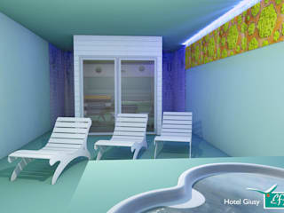 Hotel green Spa Hotel in stile minimalista di Effimera Beauty Wellness Spa Minimalista