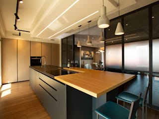 Archifacturing Built-in kitchens MDF Black