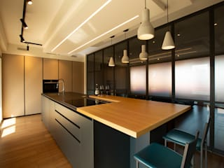 Archifacturing Built-in kitchens Iron/Steel Black