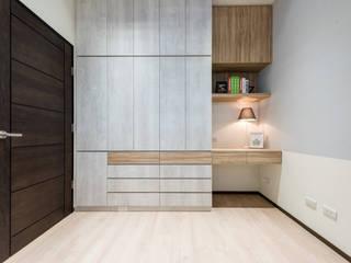 Детская комната в азиатском стиле от 沙瑪室內裝修有限公司 Азиатский