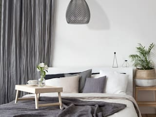 Bedroom's inspiration decorated by lighting from LuxuryChandelier.co.uk Luxury Chandelier Small bedroom Solid Wood White